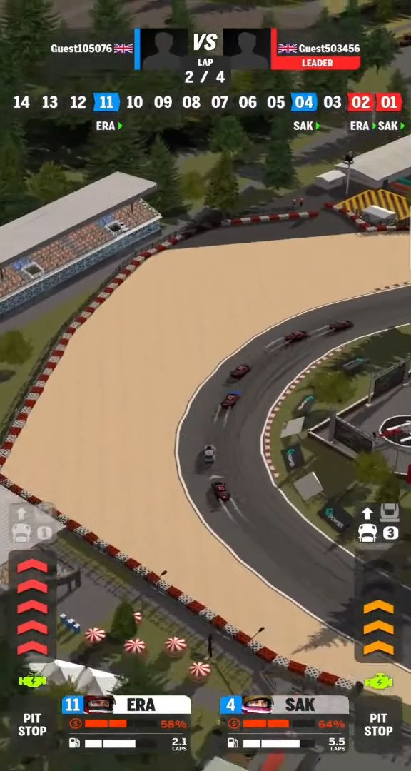 Speed League screenshot 1