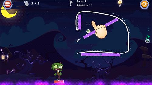 Rätsel Monstrium: Draw physics puzzle game auf Deutsch