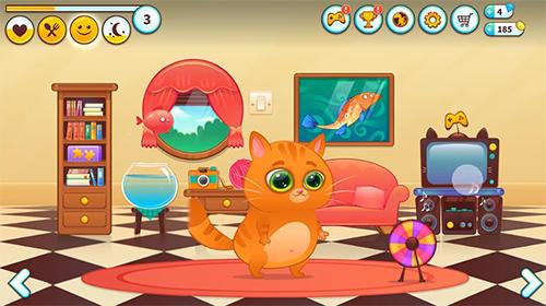 Simulator-Spiele Bubbu: My virtual pet für das Smartphone