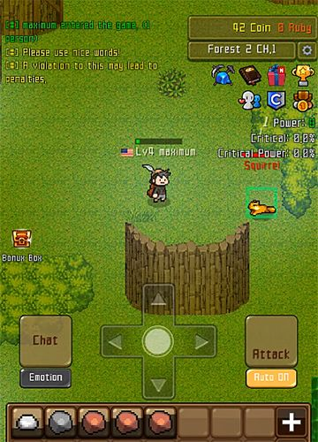 Grow stone online: Idle RPG in English