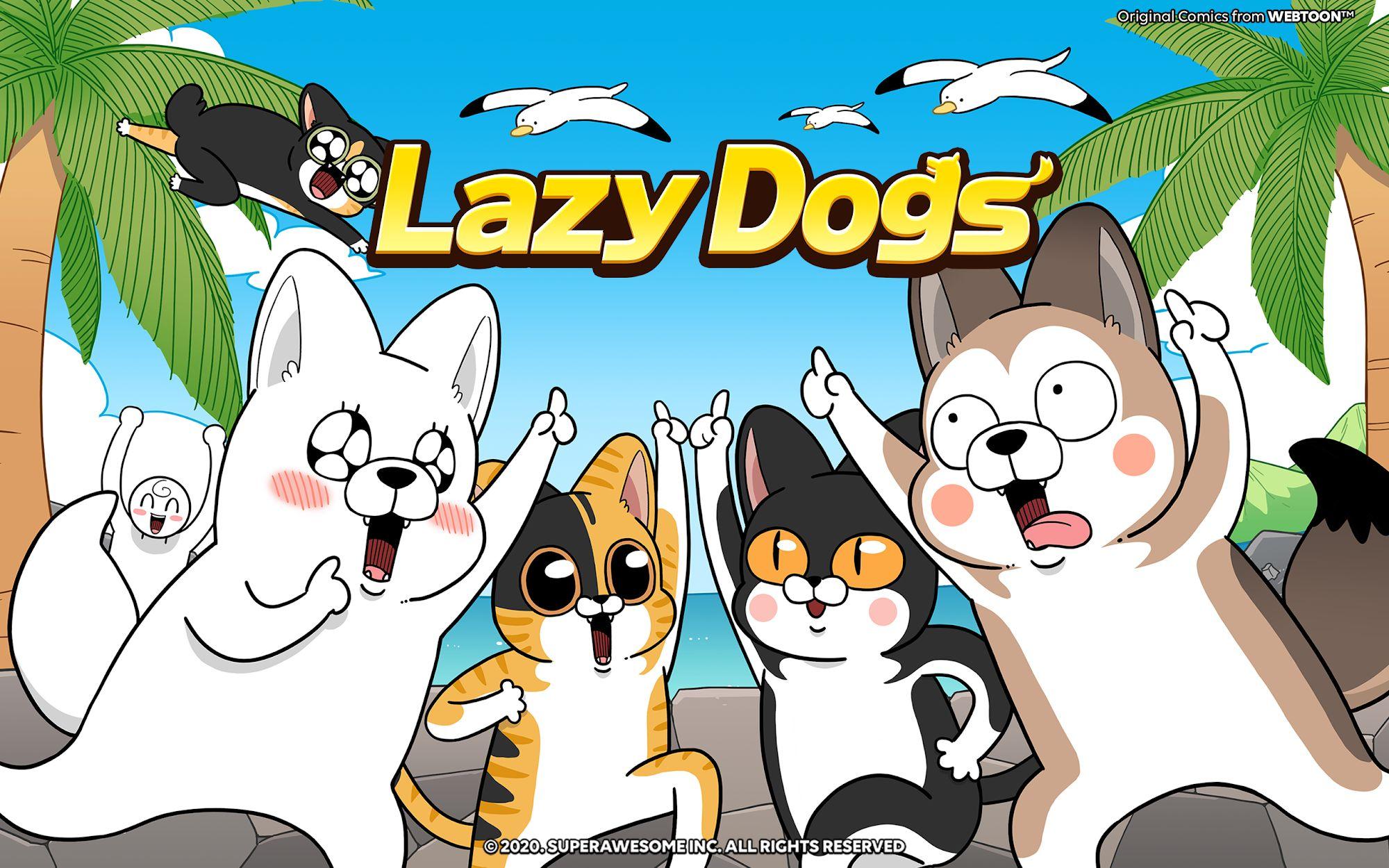 Lazy Dogs capture d'écran 1