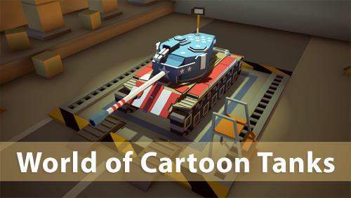 World of cartoon tanks Screenshot