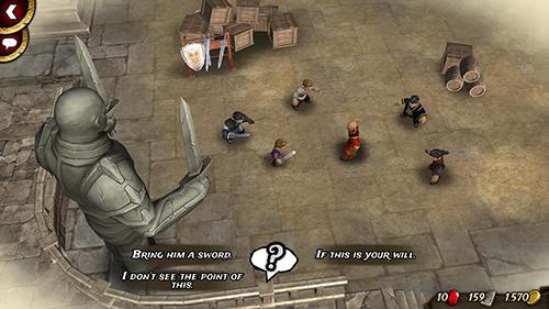 Traitors Empire: Card rpg captura de pantalla 1
