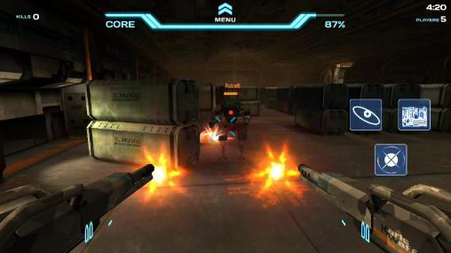 Action Void of heroes for smartphone