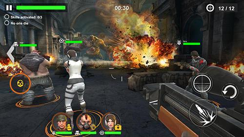 Dead warfare: Zombie captura de pantalla 1