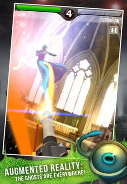 Shooter games Ghostbusters Paranormal Blast in English