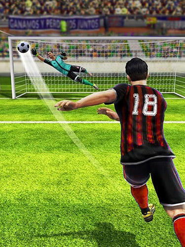Sports games Football: Free kick hero 2019 for smartphone