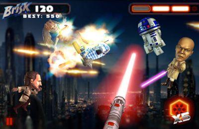 Les Guerres des Etoiles: l'Epée Lumineuse pour iPhone