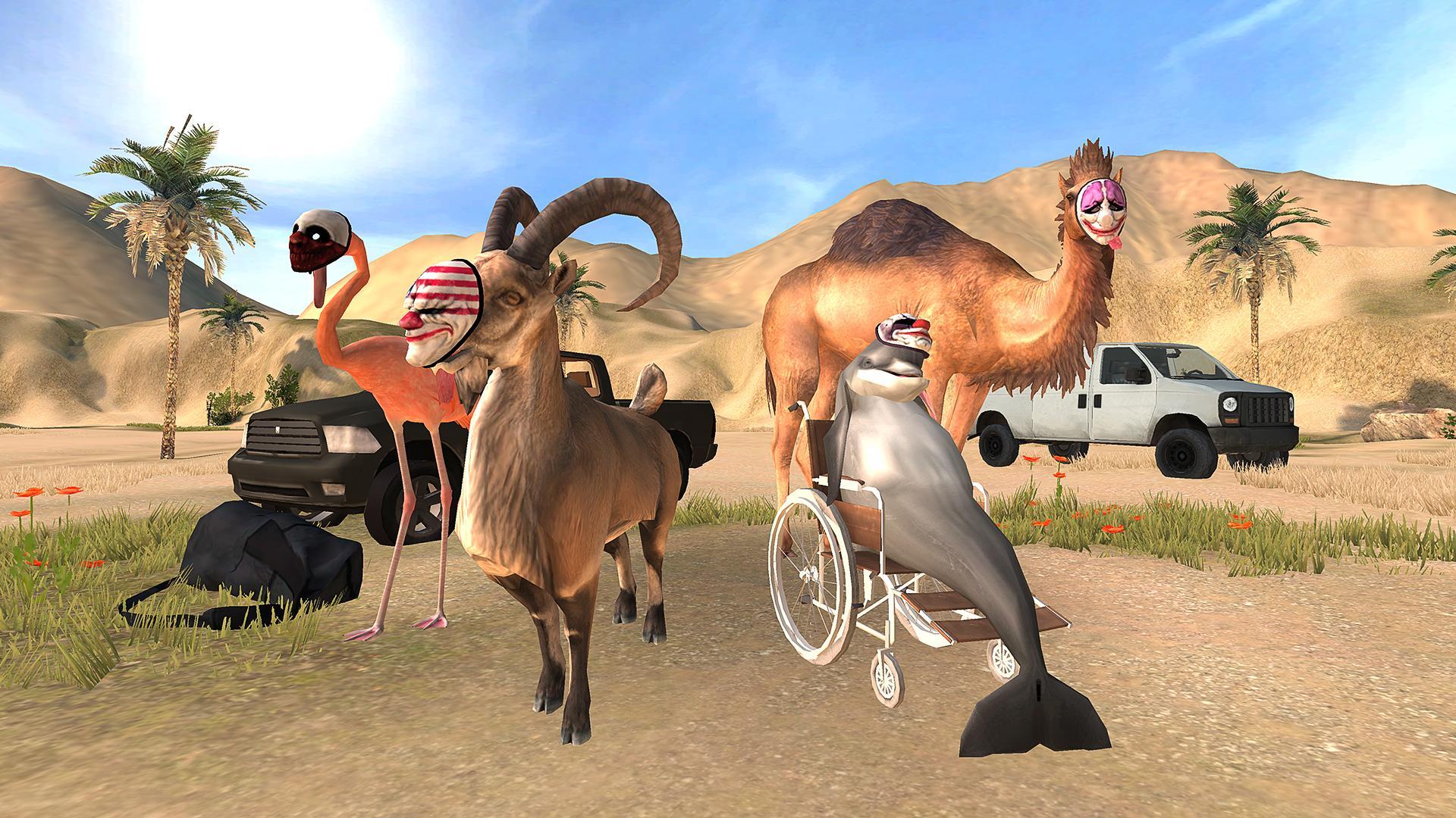 Goat Simulator Payday captura de tela 1