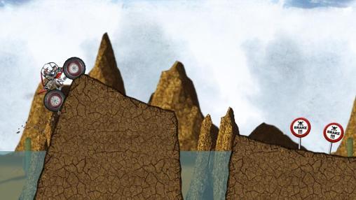 Stickman downhill: Monster truck auf Deutsch