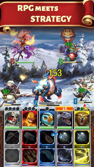 Multiplayerspiele Creature quest für das Smartphone