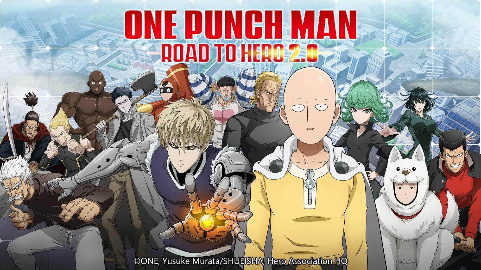 One-Punch Man: Road to Hero 2.0 скріншот 1