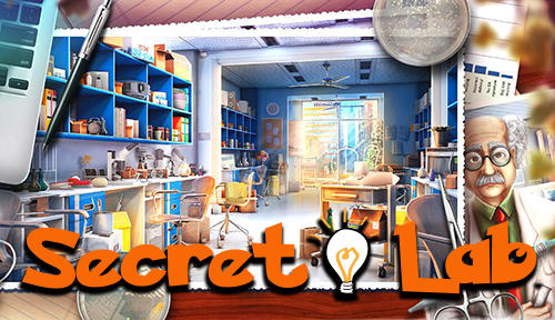 Hidden objects: Secret lab іконка