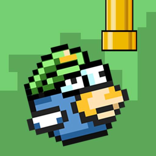 Floppy Bird Pixel ícone