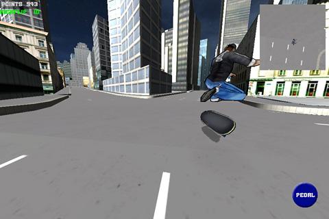 Le skateboarding: simulateur