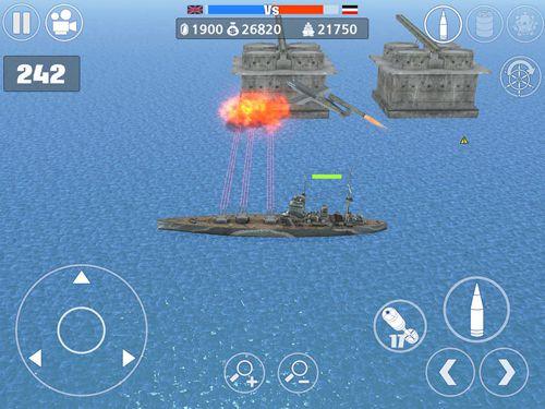 iPhone用ゲーム ワールド・ウォー2:バトル・オブ・ザ・アトランティック のスクリーンショット