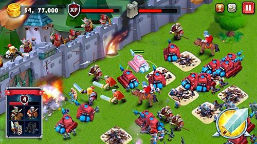 Castle defense: Soldier tower defense strategy game auf Deutsch