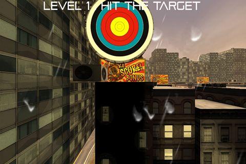 Screenshot Das Pfeil Spiel auf dem iPhone