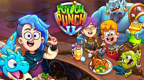 Potion punch 2: Fantasy cooking adventures captura de tela 1