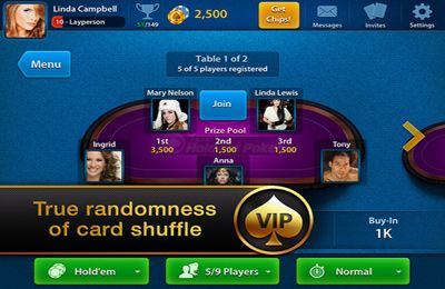 Техасский Покер VIP