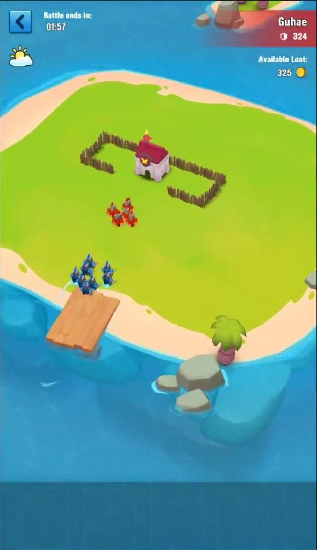 Island War スクリーンショット1