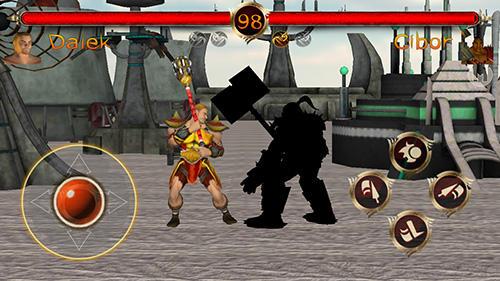 Kampfspiele Terra fighter 2: Fighting games für das Smartphone