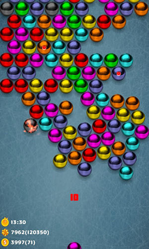 Magnetic balls bubble shoot: Puzzle game для Android