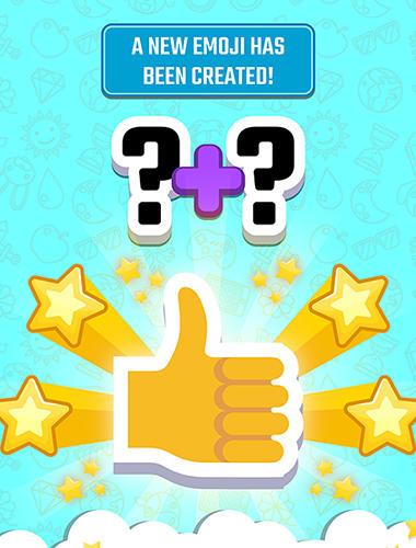 Arcade-Spiele Match the emoji: Combine and discover new emojis! für das Smartphone
