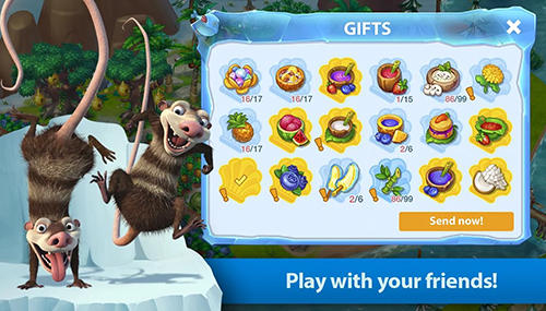 Ice age world Screenshot