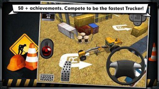 Simulation Construction: Trucker parking simulator für das Smartphone