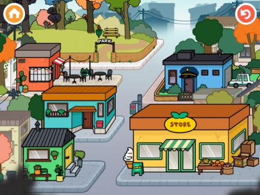 Toca town для Android