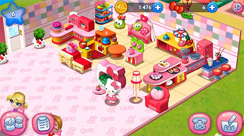 Hello Kitty: Food town für Android