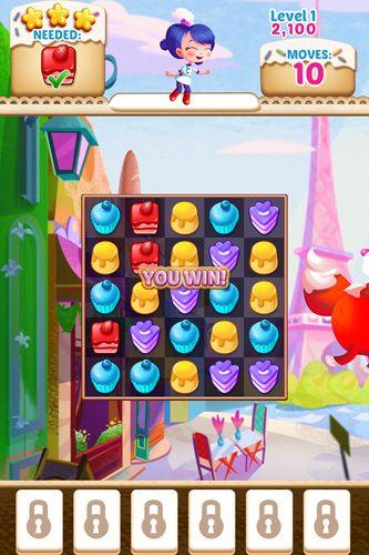 Screenshot Cupcake Mania auf dem iPhone