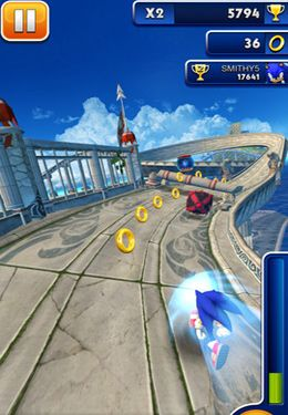 Arcade: download Sonic Dash to your phone