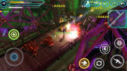 Alien zone raid captura de tela 1