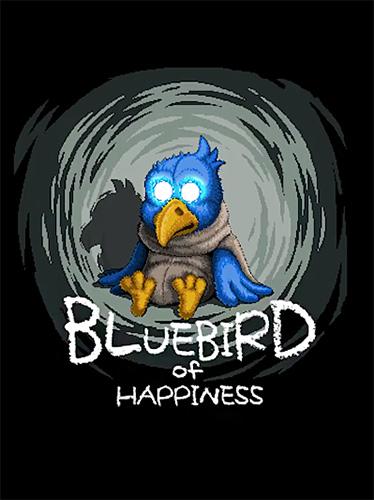 logo Pájaro azul de la felicidad