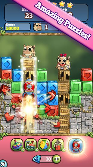 Baby blocks: Puzzle monsters! für Android