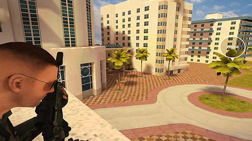 Sniper Miami SWAT sniper game auf Deutsch