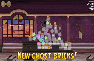 Screenshot Angry Birds Seasons: Haunted hogs on iPhone