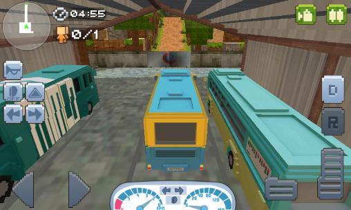 Bus-Spiele Off-road: Hill driver bus craft auf Deutsch