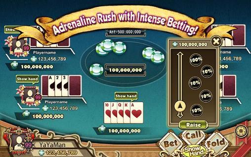 Glücksspiele Fun show hand! für das Smartphone