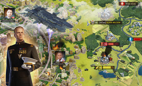Online Strategiespiele Imperial: War of tomorrow auf Deutsch