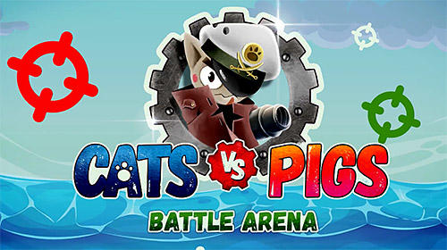 Cats vs pigs: Battle arena capture d'écran 1