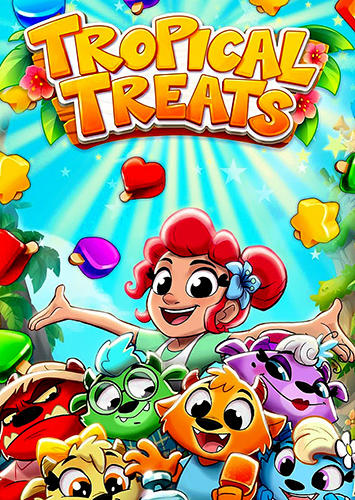 Tropical treats: Ice cream blast. Free match 3 Screenshot
