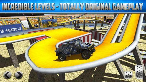 3D Monster truck: Parking game für Android