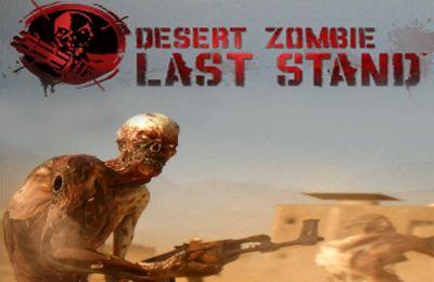logo Zombie en el desierto. La última posición