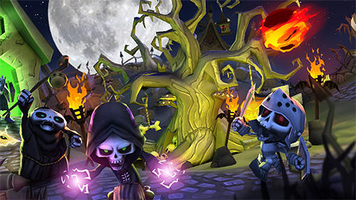 Skull towers: Castle defense für Android