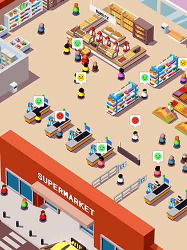 Arcade Idle supermarket tycoon: Shop für das Smartphone
