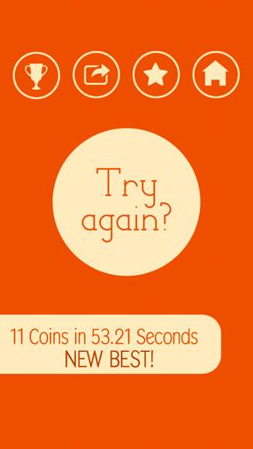 Captura de pantalla 15 monedas en iPhone