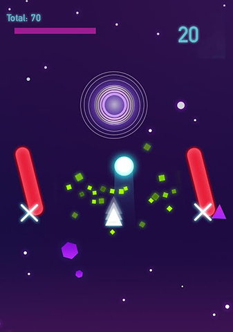 Collider shapes para Android